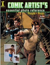 Comic Artist Photo Reference Book 1 Revised
